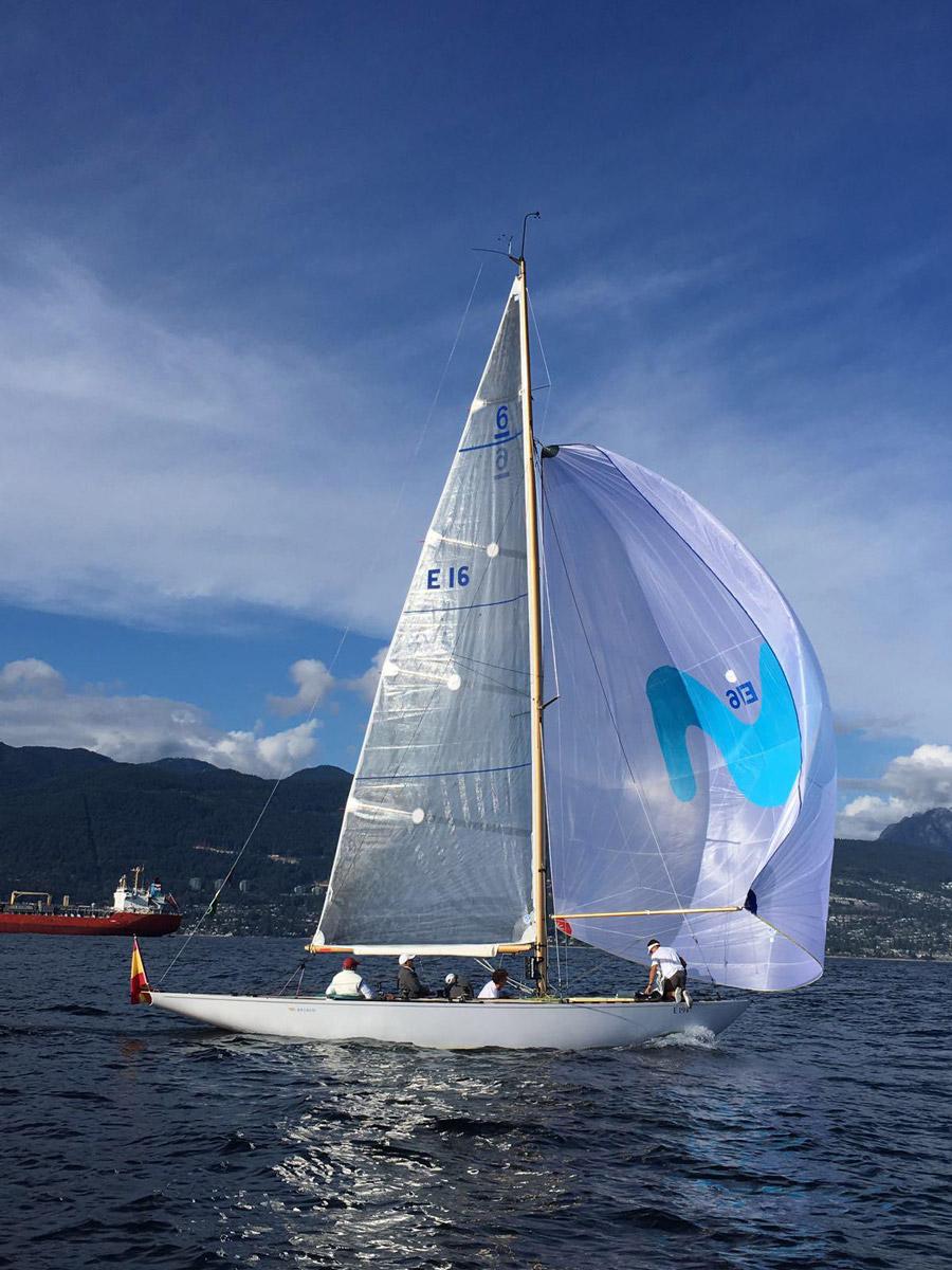 Campeonato del Mundo de vela en la clase 6M