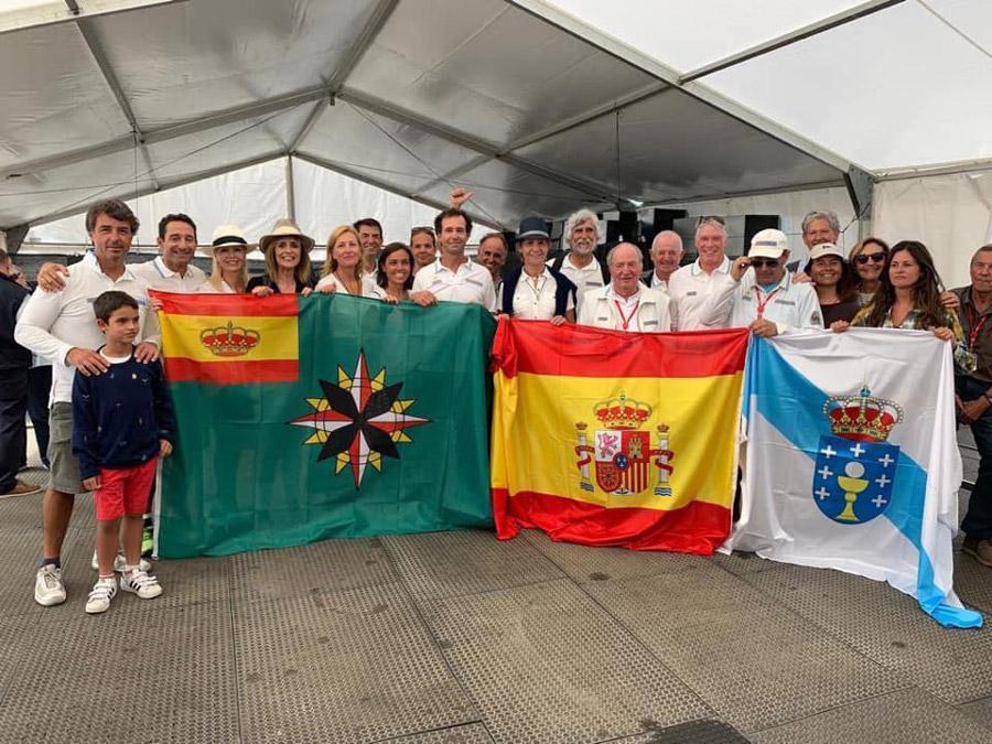 Campeones del Mundo a bordo del Bribon Movistar!!