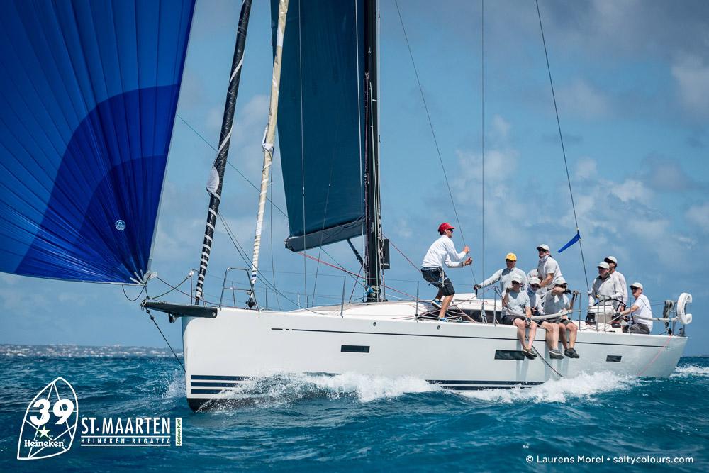 St. Maarten Heineken Trophy a bordo del «X-Patriate»