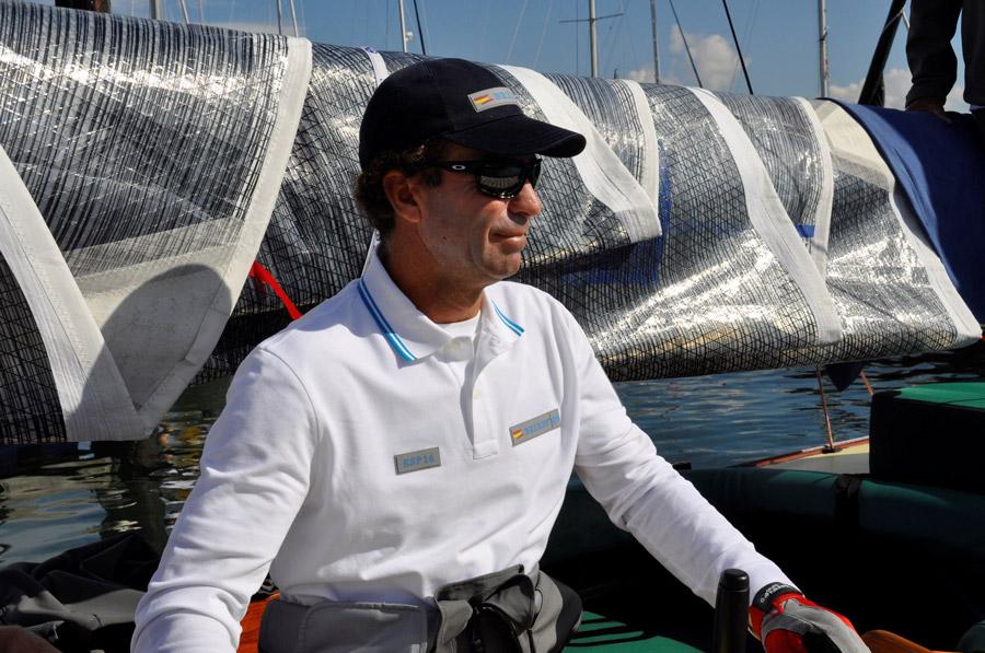 Durante este fin de semana hemos participado, a bordo del 6M Bribón, en la penúltima regata del Circuito de este año.